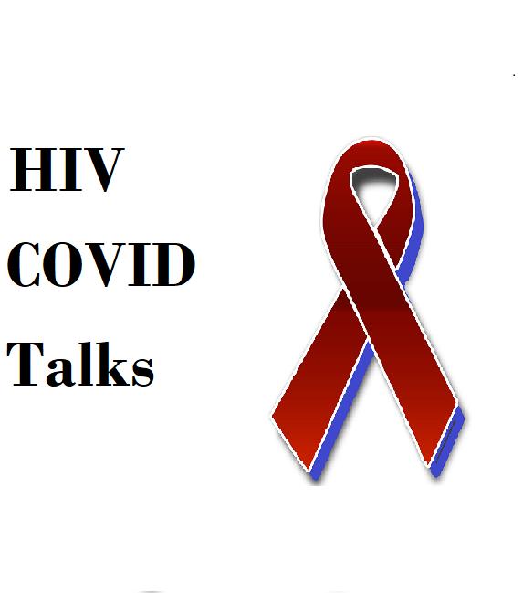 HIV COVID Talks logo